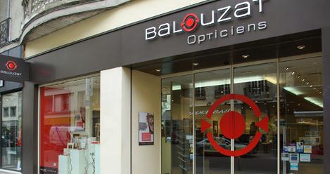 Trouver le magasin Balouzat opticiens le plus proche de chez vous